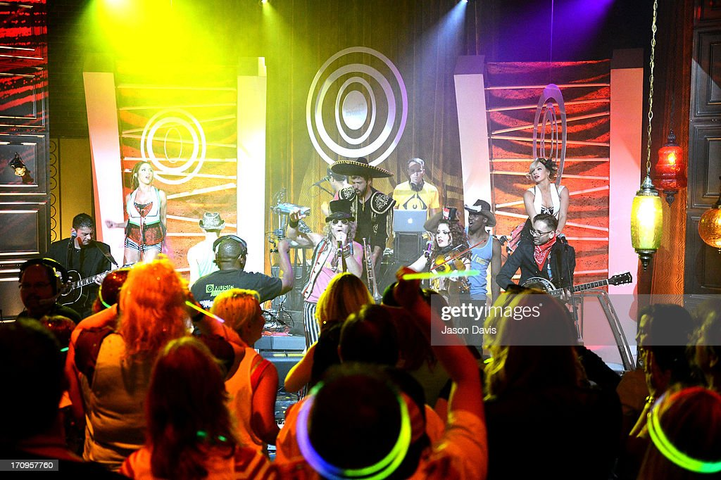 Electro Shine performs during the MTV, VH1, CMT & LOGO 2013 O Music Awards on June 20, 2013 in Nashville, Tennessee.