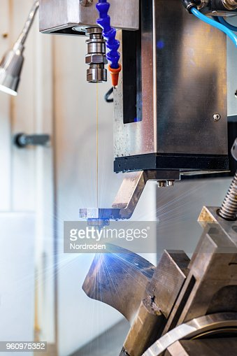 Electroerosive drilling machine : Stock Photo