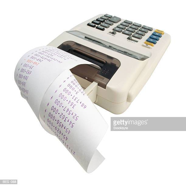 Electronic adding machine