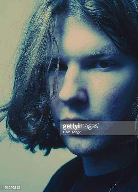 Electronic and ambient musician Aphex Twin portrait London UK 1992