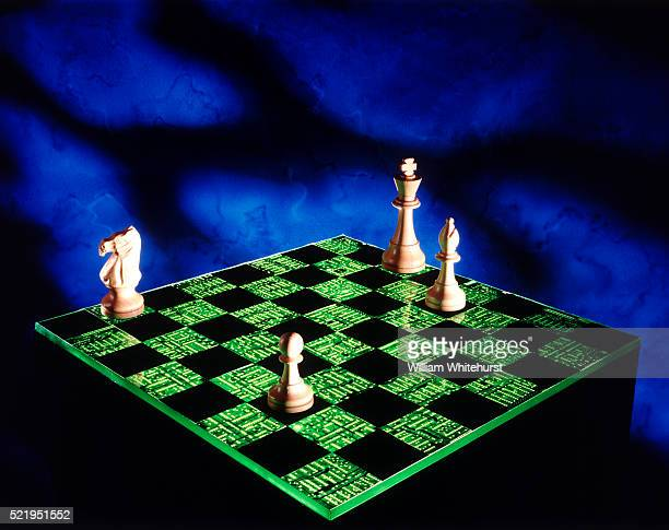 Electronic chess / Artificial intelligence