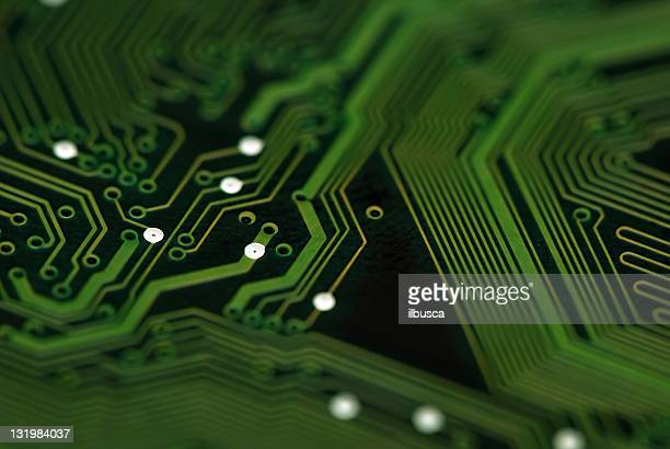 Electronic circuit abstract macro