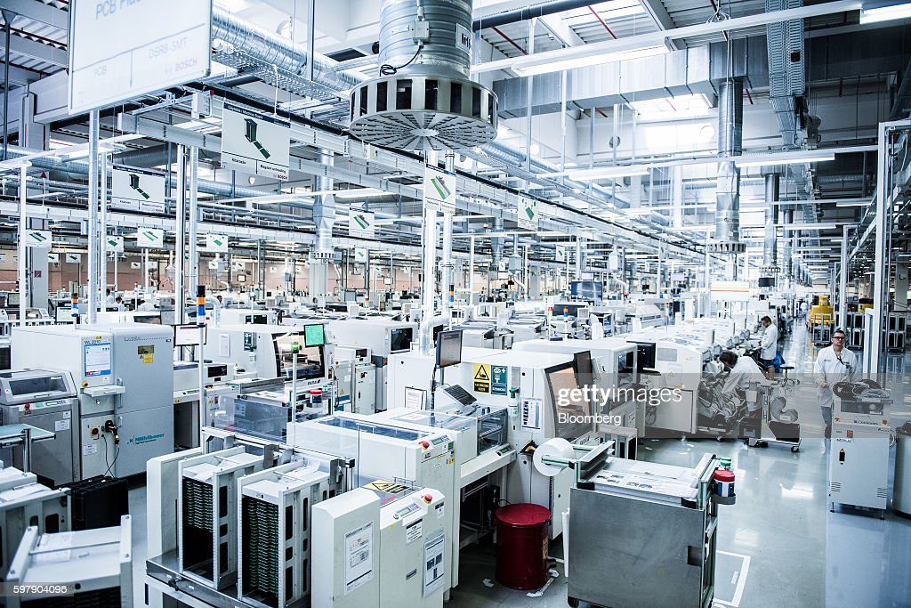 Electronic Component Manufacture at Bosch