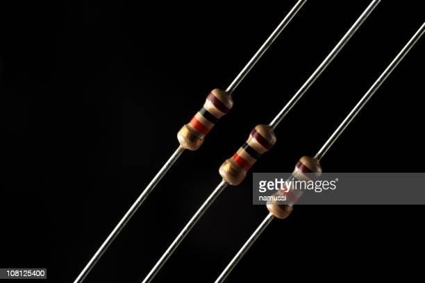 Des composants électroniques: resistors