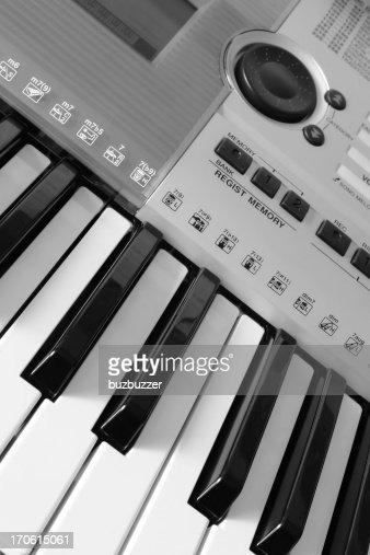 Electronic Keyboard : Stock Photo
