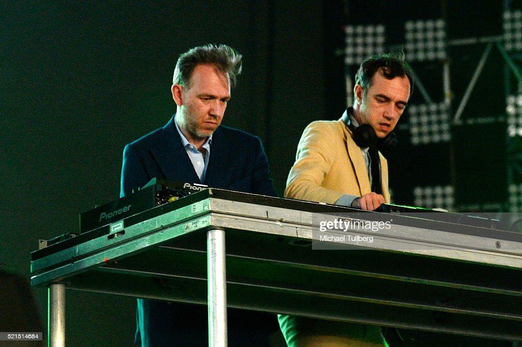 electronic music artists: