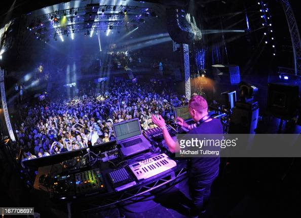 Electronic music producer/DJ Paul Van Dyk performs live at Avalon on April 27 2013 in Hollywood California