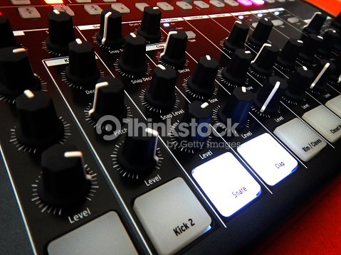 Electronic Musical Instrument Or Audio Mixer Or Sound