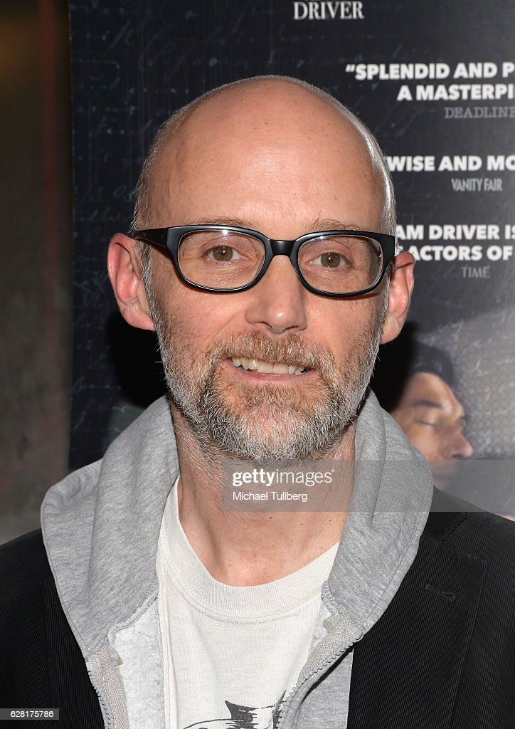 Electronic musician Moby attends a screening of Amazon Studios' 'Paterson' at the Vista Theatre on December 6, 2016 in Los Angeles, California.