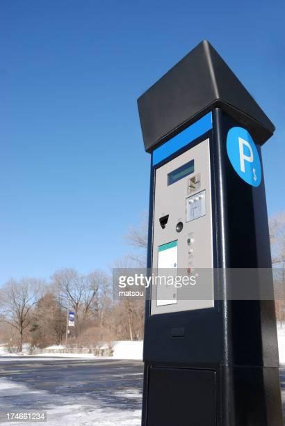 Electronic parking meter
