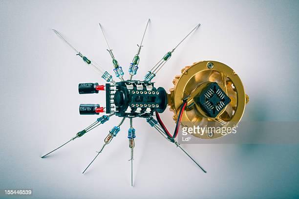 Aranha electrónica