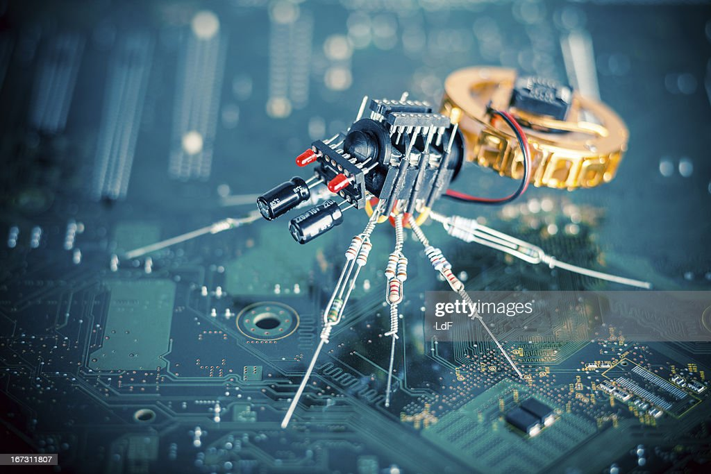 Electronic Spider