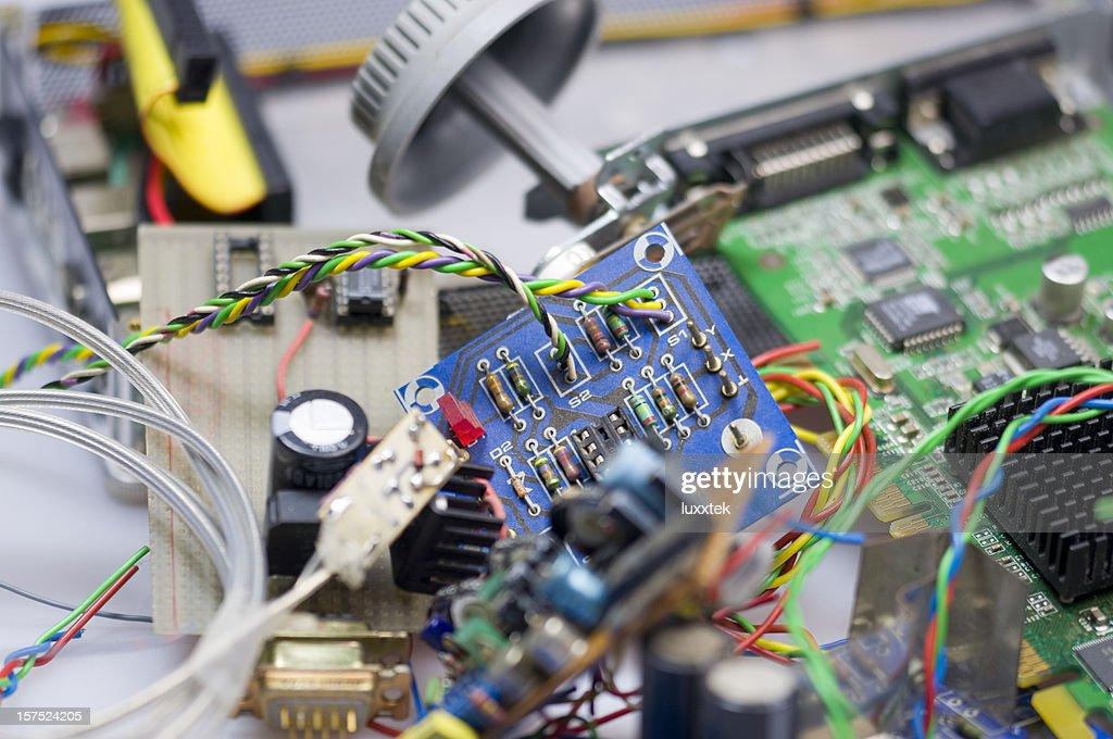 Electronic waste : Stock Photo