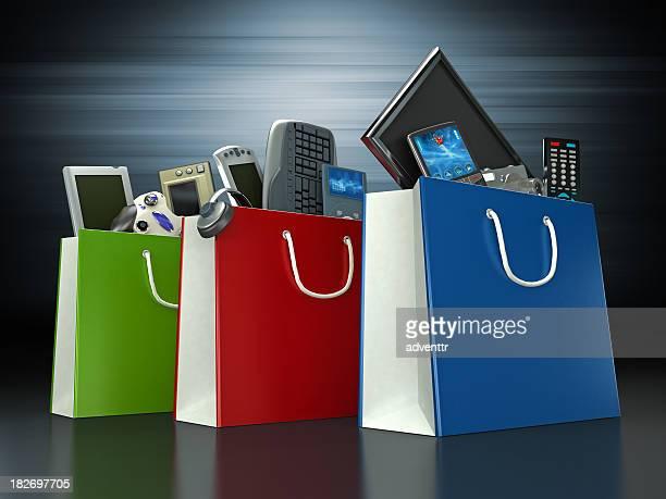 Electrónica de compras