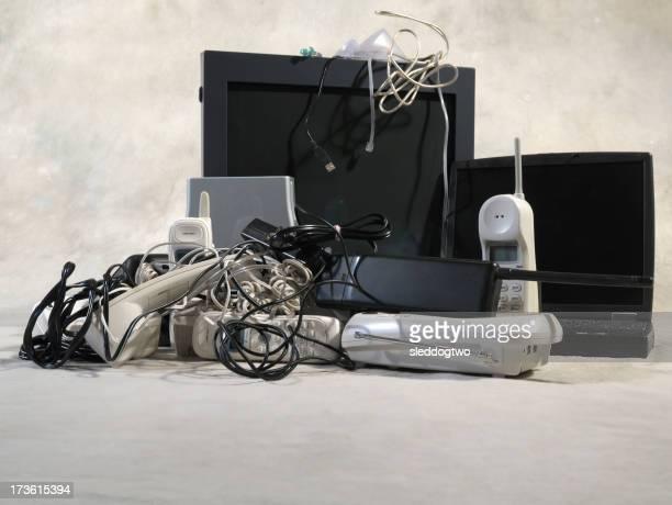 Electrónica reciclar de bajo punto de vista