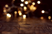 Elegant background with bokeh for festive occasions
