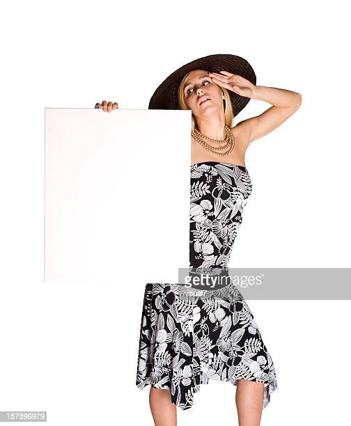 Menina elegante Outdoor
