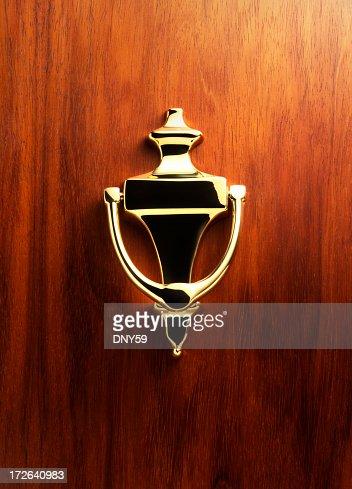 Elegant Brass Door Knocker 2