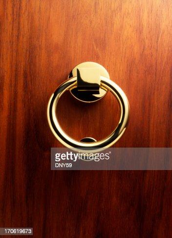 Elegant Brass Door Knocker 3