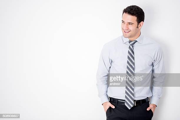 エレガントなビジネスの男性