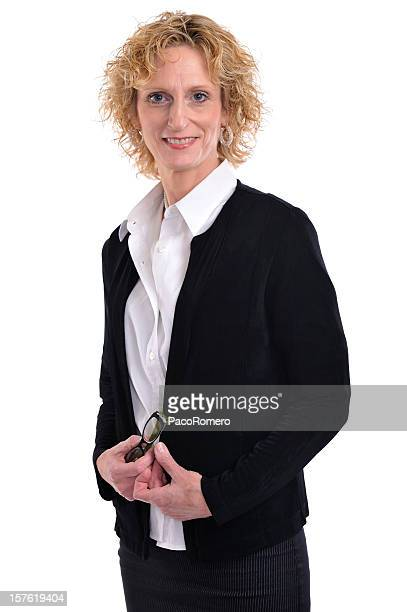Elegant businesswoman in her 50s