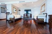 Elegant classic style living room interior