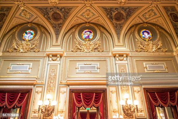 Elegant Decor Inside Monte Carlo Casino Monaco