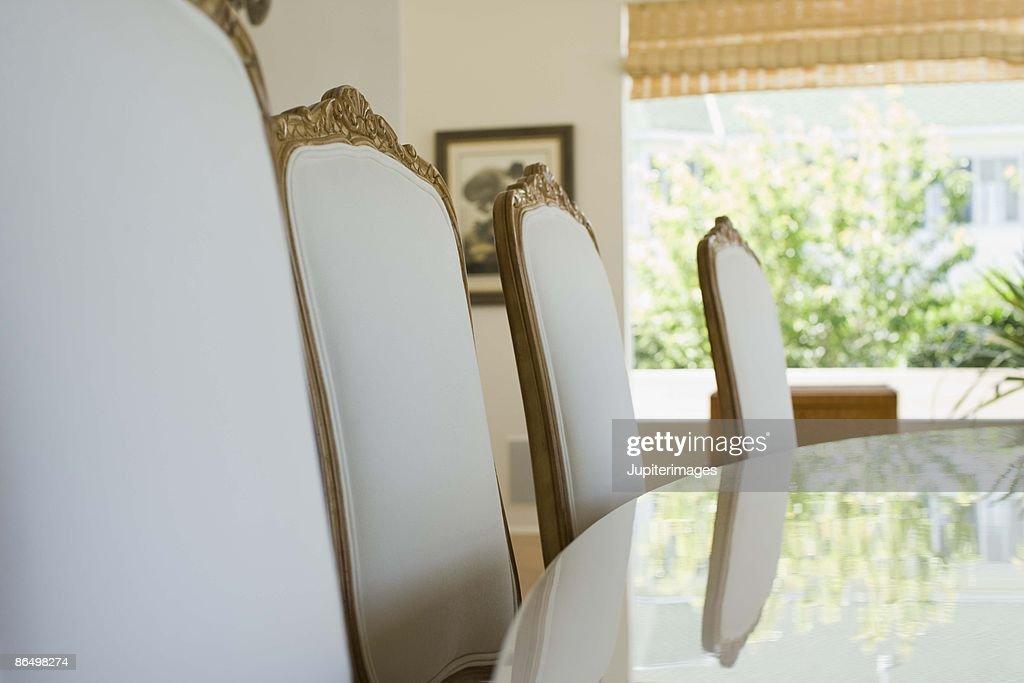 Elegant dining room : Stock Photo
