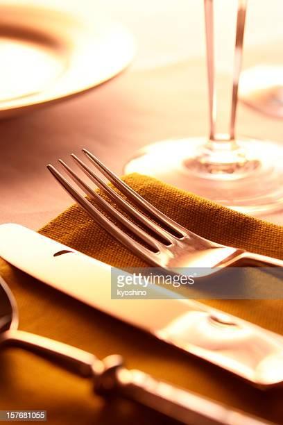 Elegante Tisch-Einstellung
