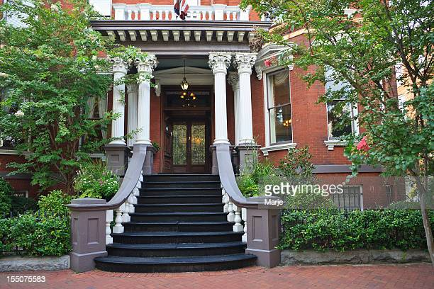 Elegant Entry to an Historic Mansion - Savannah, Georgia