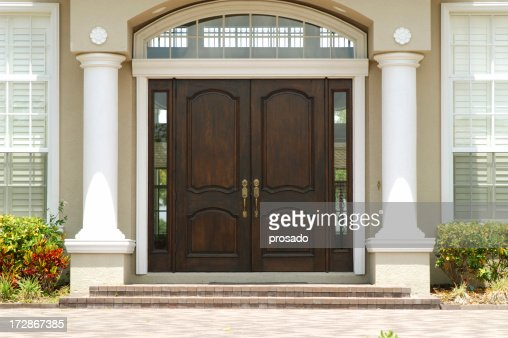 Elegant Entry to Luxury Home