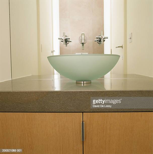 Elegant faucet with sink