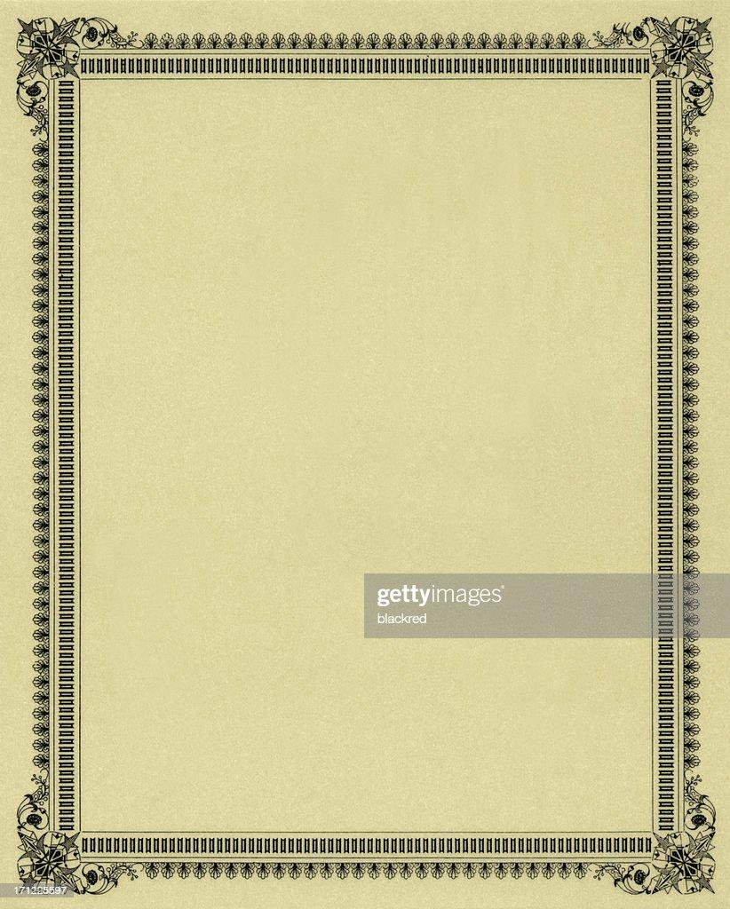 Elegant Frame : Stock Photo
