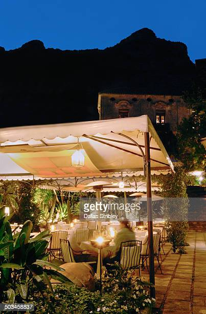 Elegant Italian restaurant in Positano, italy