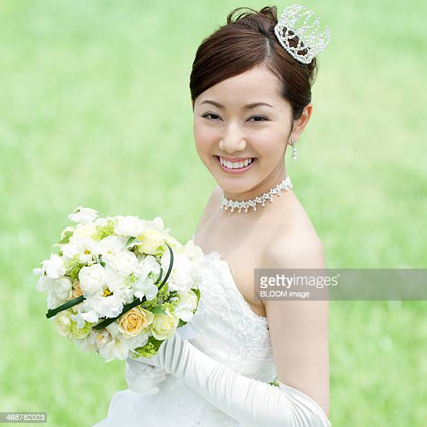 Elegant Newlywed Bride