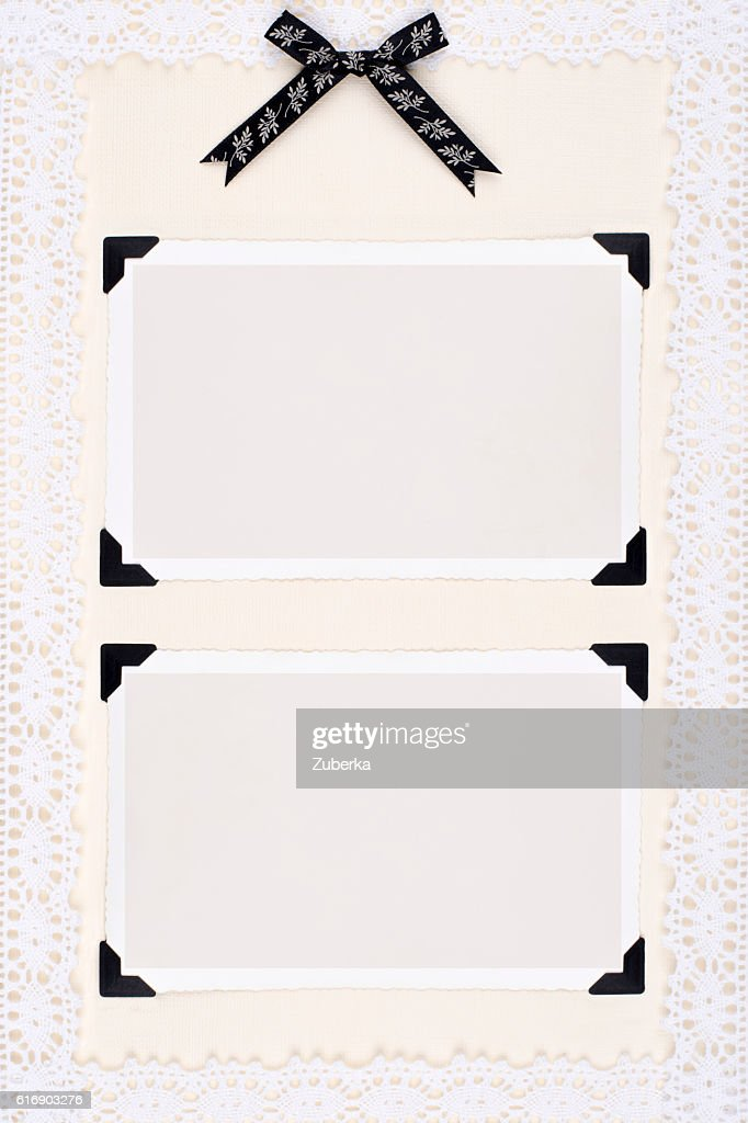Elegant photo frames : Stock Photo
