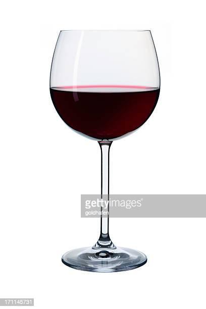 Élégant de vin rouge dans un verre