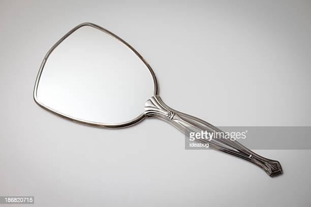 Argent de poche Vintage élégant, miroir de maquillage