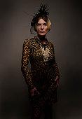 Elegant Vintage Woman