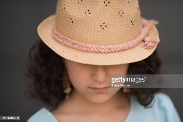 Elegant young girl