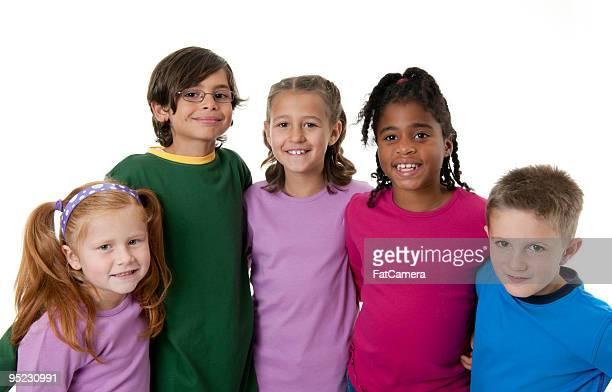 Crianças da Escola Primária