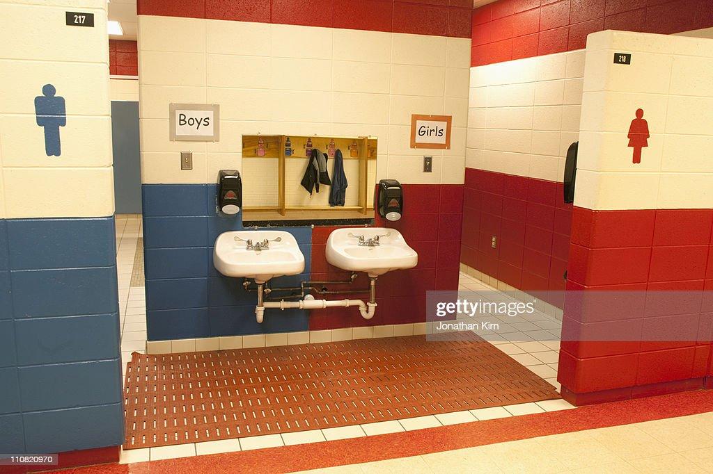 Elementary School Bathroom