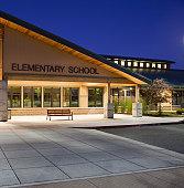 Elementary School Night Shot