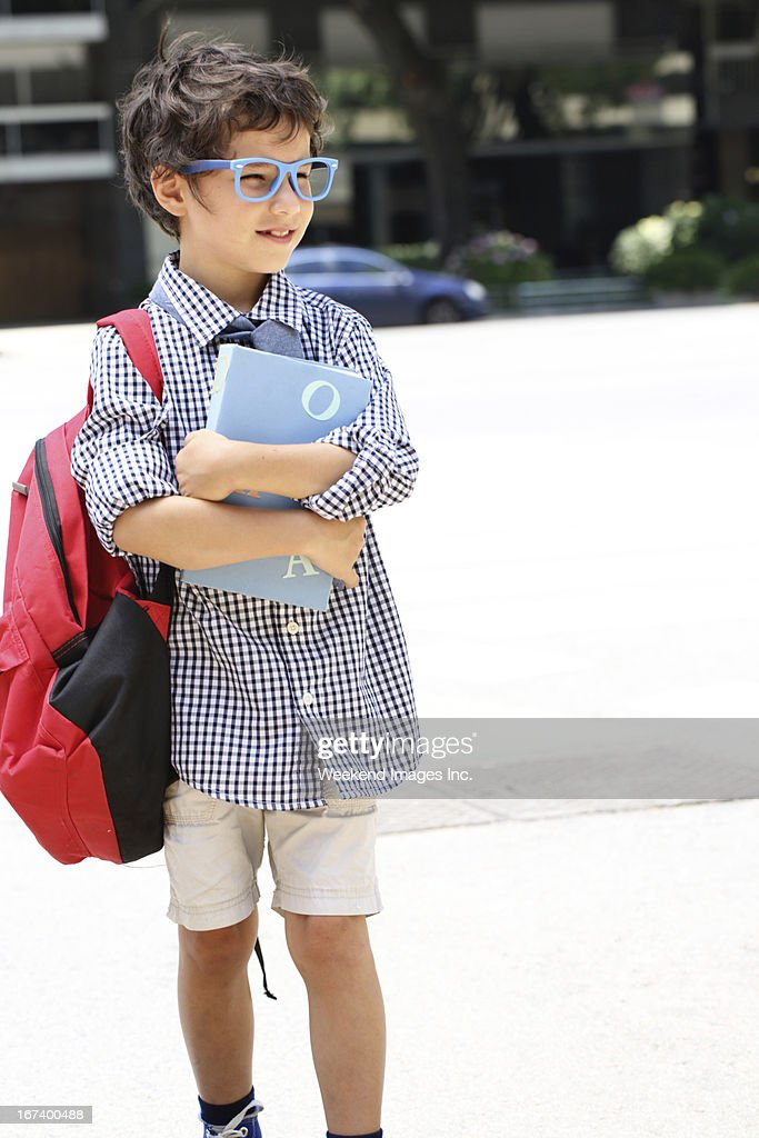 Elementary school student : Stock Photo