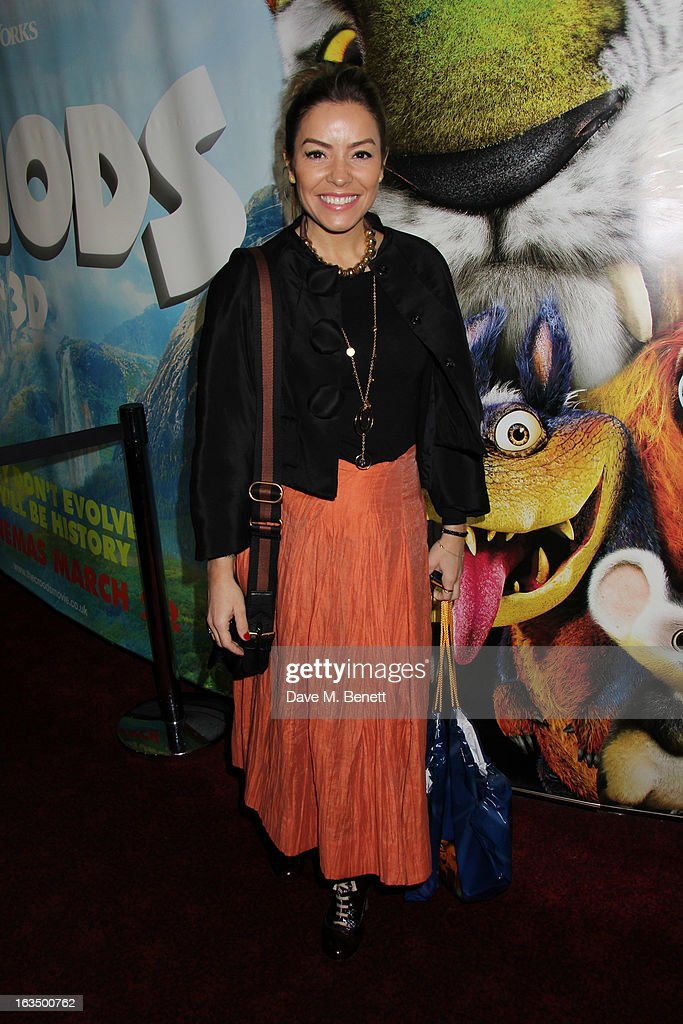 Elen Rivas attends 'The Croods' premiere at Empire Leicester Square on March 10, 2013 in London, England.
