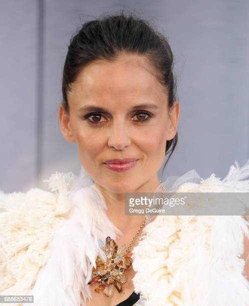 Elena Anaya arrives at the premiere of Warner Bros Pictures' 'Wonder Woman' at the Pantages Theatre on May 25 2017 in Hollywood California