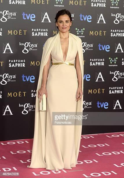 Elena Anaya attends Goya Cinema Awards 2015 at Centro de Congresos Principe Felipe on February 7 2015 in Madrid Spain