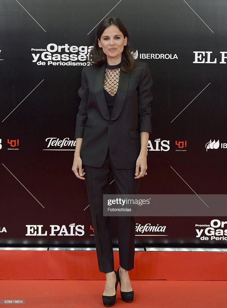 Elena Anaya attends the El Pais 40th anniversary dinner and 'Ortega y Gasset' awards ceremony at the Palacio de Cibeles on May 5, 2016 in Madrid, Spain.