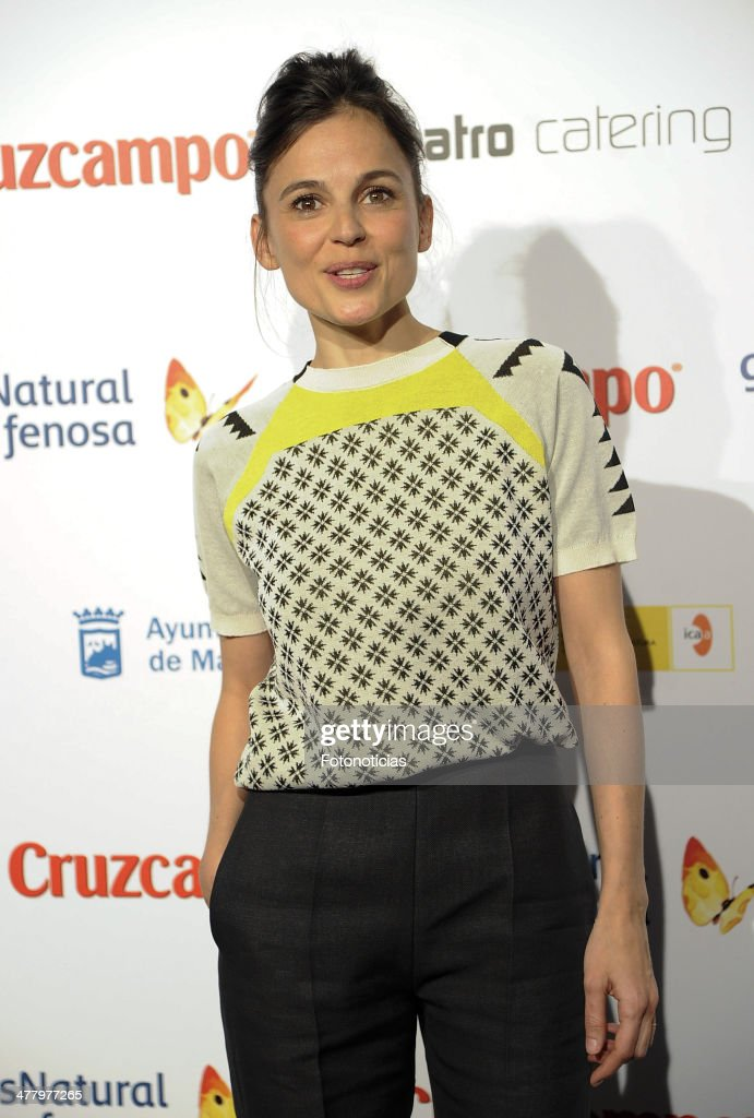 <a gi-track='captionPersonalityLinkClicked' href=/galleries/search?phrase=Elena+Anaya&family=editorial&specificpeople=234654 ng-click='$event.stopPropagation()'>Elena Anaya</a> attends the Malaga Film Festival cocktail presentation at TClub on March 11, 2014 in Madrid, Spain.