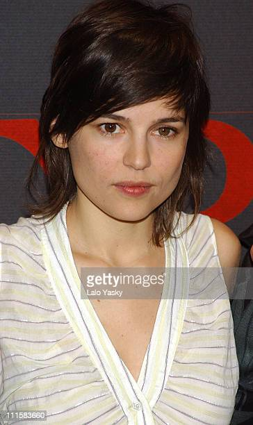 Elena Anaya during 'Alatriste' Press Conference and Photocall at City Hall in Madrid Spain